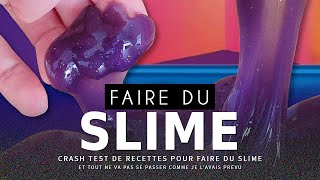 CRASH TEST : faire du Slime (comestible)
