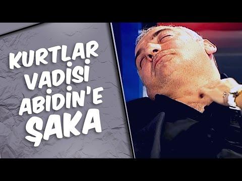 Mustafa Karadeniz - Kurtlar Vadisi Abidin'e Şaka Yaptı