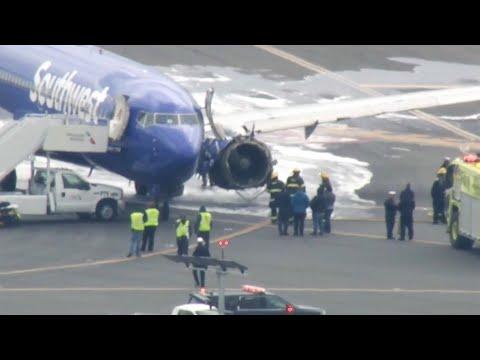 Flyet måtte nødlande. Kvinne skal nesten ha blitt sugd ut av vinduet