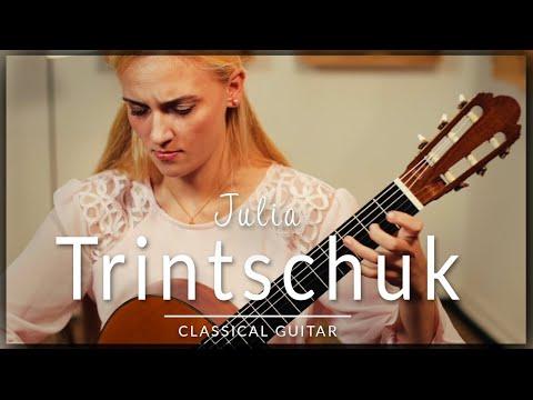 Julia Trintschuk - Full Classical Guitar Concert   Bach, Scarlatti, Piazzolla & Satie