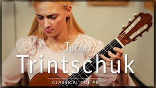 Julia Trintschuk - Full Classical Guitar Concert | Bach, Scarlatti, Piazzolla & Satie