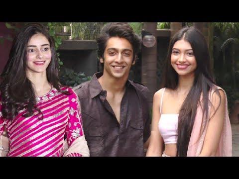 Ananya Pandey,Alanna Pandey And Ahaan Pandey Slaying In Tradional Avatar