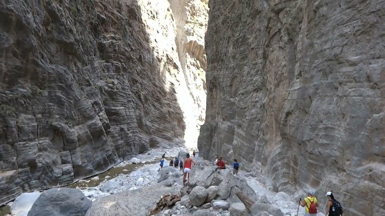 Samaria gorge trip Crete  YouTube
