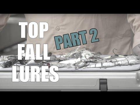 Top 5 Fall Lures and Presentations   KAYAK BASS FISHING   Seminar Series - Part 2