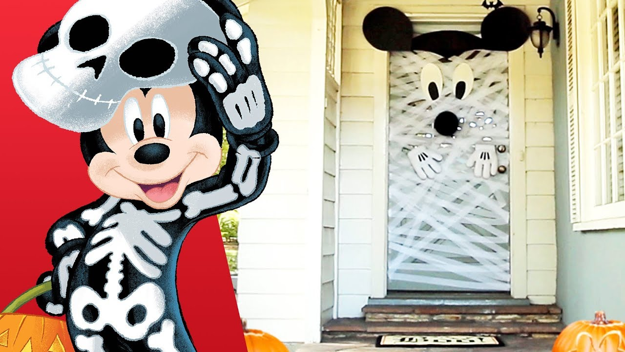 Mickey Halloween Door Decor