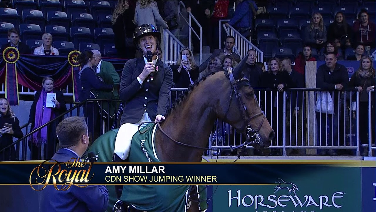 Amy Millar Wins the 2017 Canadian Show Jumping Championship