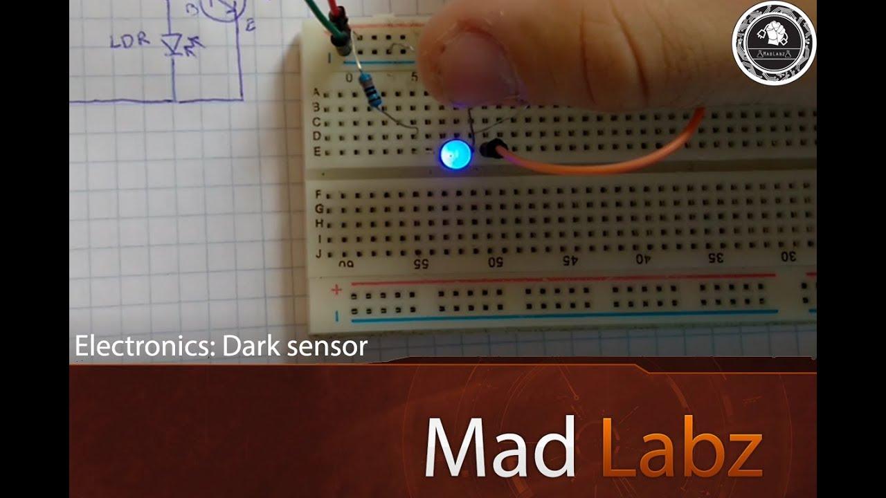 Transistor - Dark/Light Sensor: 5 Steps