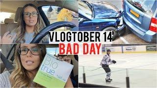 Vlogtober   Mike Crashed My Car... Bad Day!