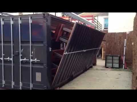Davey jordan ltd shipping container youtube - How to convert a shipping container ...