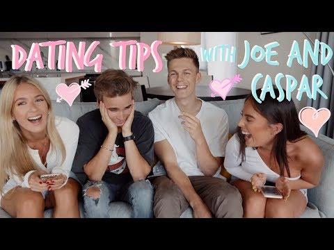 BOY TALK/DATING TIPS WITH JOE AND CASPAR! | Sophia and Cinzia