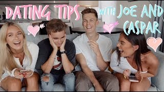 BOY TALK/DATING TIPS WITH JOE AND CASPAR! | Sophia and Cinzia