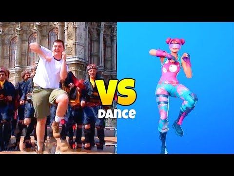 Real Life MATT DANCE VS. Where Is Matt EMOTE..! (Perfect Timing Comparison) Fortnite Battle Royale