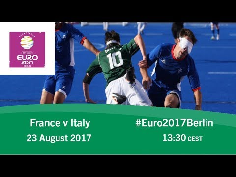France vs Italy | IBSA Blind Football European Championships