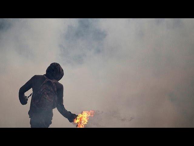 Второй день протестов против Николаса Мадуро
