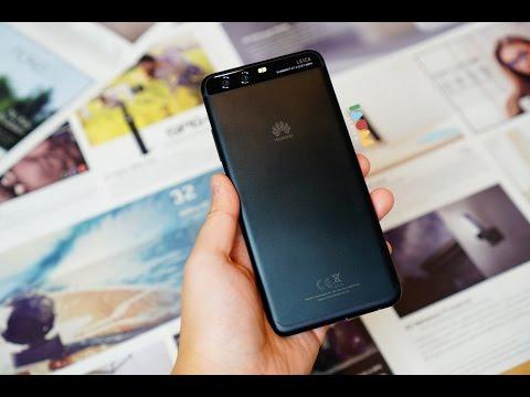แกะกล่อง [ รีวิว Huawei P10 สีดำ ] สวยกว่าที่คาดคิด
