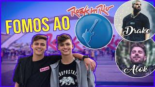 TUDO QUE ROLOU NO ROCK IN RIO! •Irmãos Scribel•