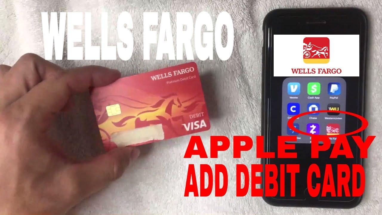 ✅ How To Add Wells Fargo Debit Card In Apple Pay Wallet 🔴