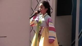 송소희 양 안면도 꽃 박람회 공연( Song So Hee's Anmyondo Flower Exhibition PP