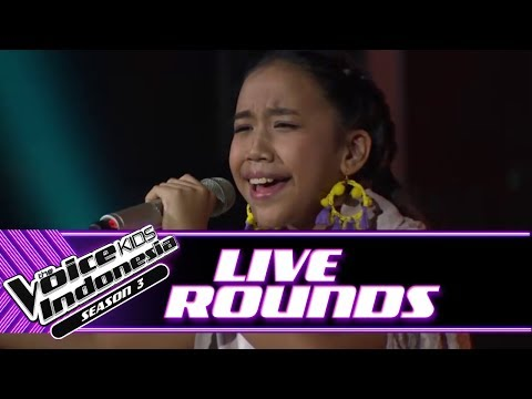 Laura Tell Me You Love Me | Live Rounds | The Voice Kids Indonesia Season 3 GTV