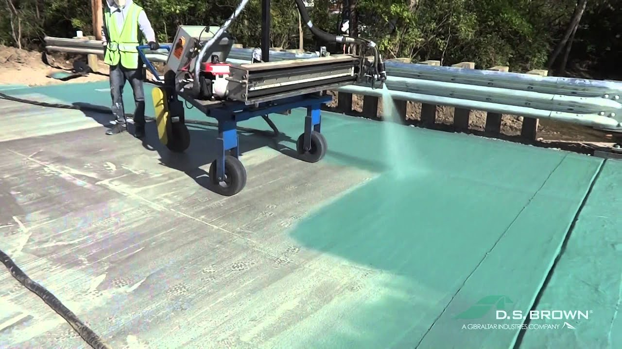 Deckguard Spray Membrane Youtube