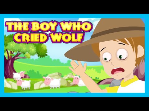 The Boy Who Cried Wolf Story (Short Story for KIDS)   KIDS HUT Animated Stories