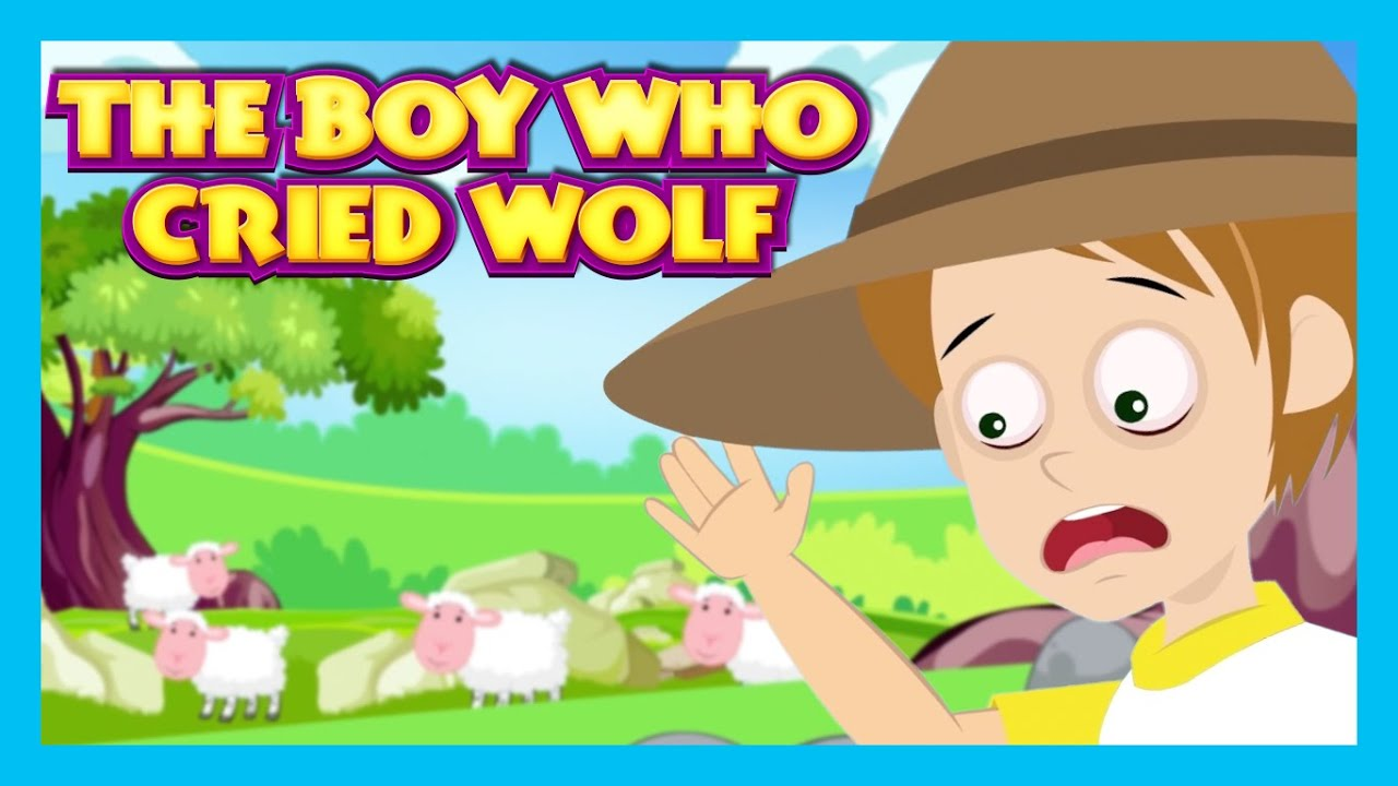 The Boy Who Cried Wolf Story Short Story For Kids Kids Boy Who Cried Wolf Clipart Printable
