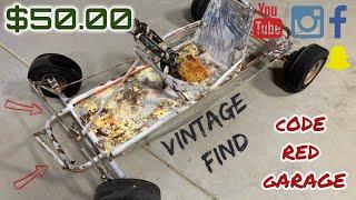 $50 00 Vintage go kart Craigslist DEAL! -