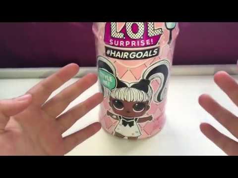 Unboxing L.O.L Surprise # HAIR GOALS - Snow Bunny