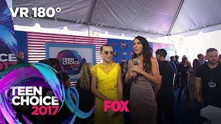 Millie Bobby Brown Discusses Shooting Godzilla | TEEN CHOICE