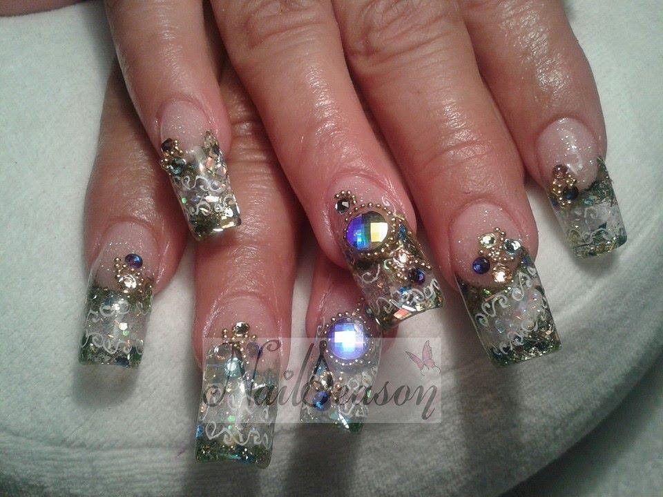 Decoración De Uñas Con Swarovski Cristales O Piedras 2014 2015
