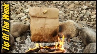 """Cooking Bacon & Eggs In A Paper Bag - """"Tip Of The Week"""" E34 thumbnail"""