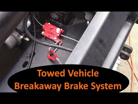 Jeep Wrangler JK - Ready Stop brake install for towed vehicle
