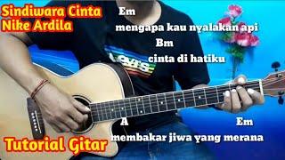 Sandiwara Cinta Nike Ardila Lirik dan Chord Mudah - Tutorial Gitar By Darmawan Gitar