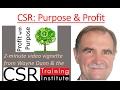 CSR Purpose & Profit