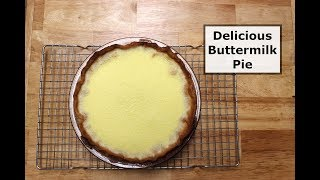 Delicious Buttermilk Pie