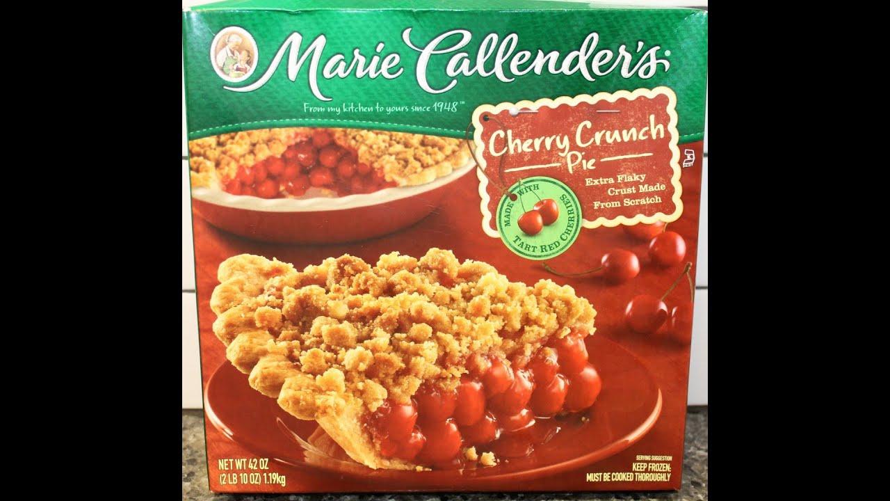 Marie Callender S Cherry Crunch Pie Review