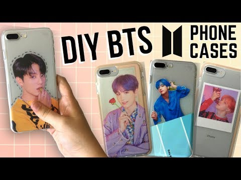 Easy DIY KPOP (BTS) Phone Cases!