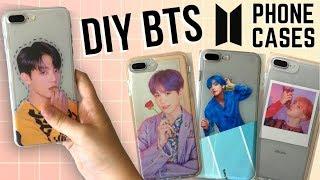 Easy DIY KPOP (BTS) Phone Cases!