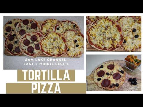 5-minutes-easy&cryspy-tortilla-pizza- -pizza-tortilla-en-5-minutes-croustillante-et-facile