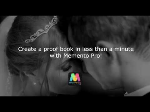 Create a proof book in less than a minute with Memento Pro!