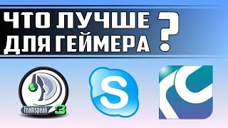 сравнение популярных программ голосовой связи - Skype, TeamSpeak 3, RaidCall - ЛИЧНЫЙ ОПЫТ