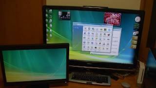 パソコンを家電テレビに接続