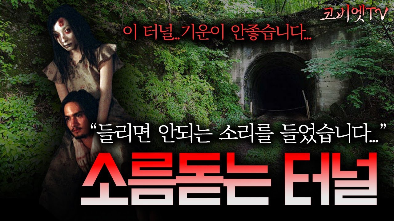 터널에서 본 상반신 귀신과 수상한 소리|무서운이야기 실화 레전드| 보이는 공포라디오|코비엣TV |자막有