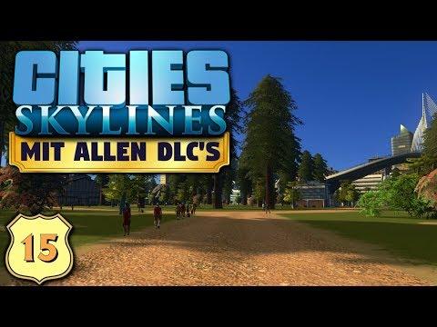 Cities Skylines S6/#15: Bäume für unseren Central Park [Let's Play][Gameplay][German][Deutsch]