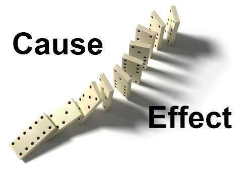Cause & Effect Essays: Common Connectors