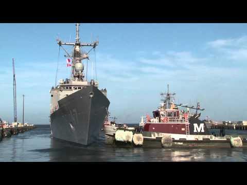 Navy sorties to avoid Hurricane Irene
