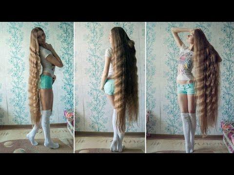 Diese Frau schnitt sich 14 Jahre nicht die Haare!