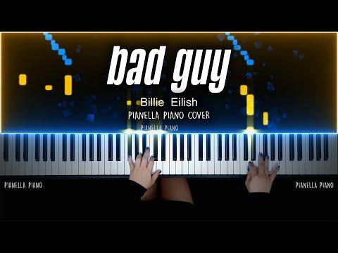 Billie Eilish - BAD GUY | PIANO COVER By Pianella Piano