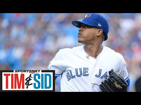 Blue Jays GM Ross Atkins Explains Marcus Stroman Trade To Mets | Tim and Sid