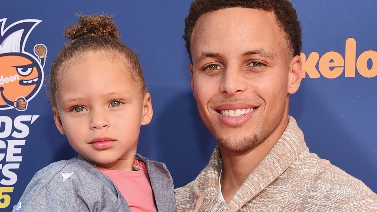 Stephen Curry Kid Riley Curry Steals The...